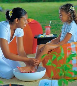 Fun spa treatments for kids