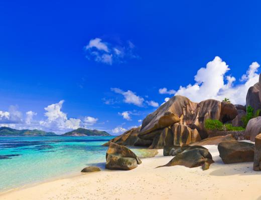 Top beaches in the Seychelles: Anse Source dÔÇÖArgent, La Digue