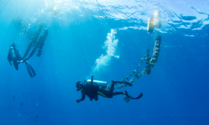 Rebuilding the coral reef at Constance Lémuria