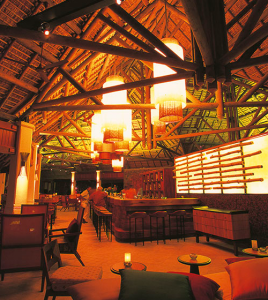 The Main Bar at Constance Belle Mare Plage, Mauritius