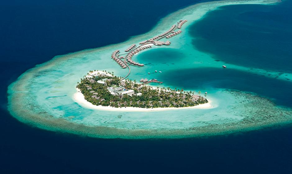 Constance Halaveli in the Maldives