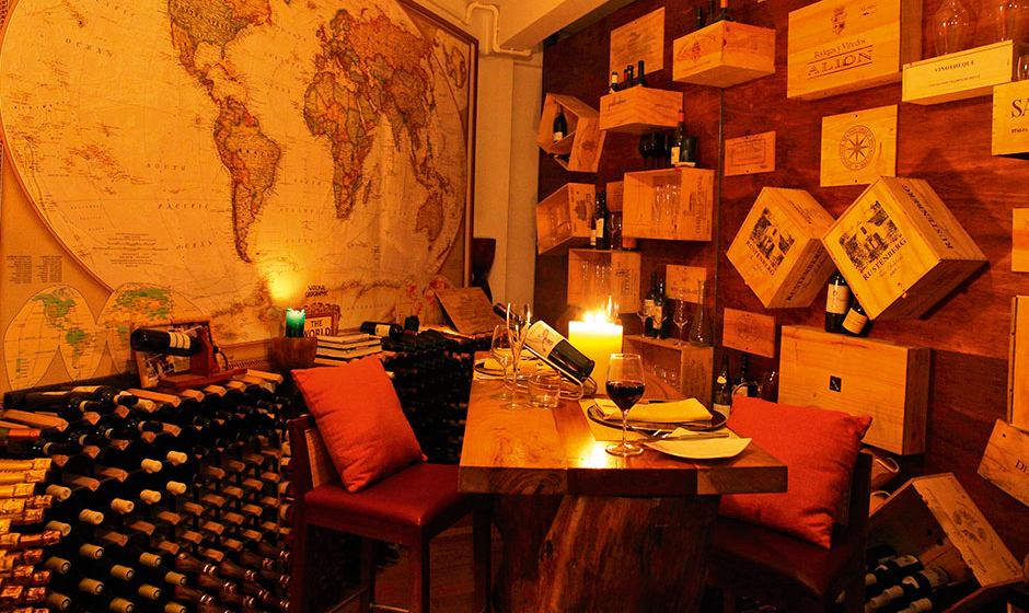 A world of flavour: Constance Halaveli's wine cellar