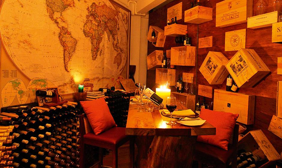 A world of flavour: Constance Halaveli's wine cellar
