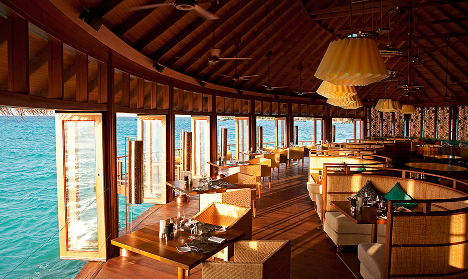 Ocean views at the Jing Restaurant