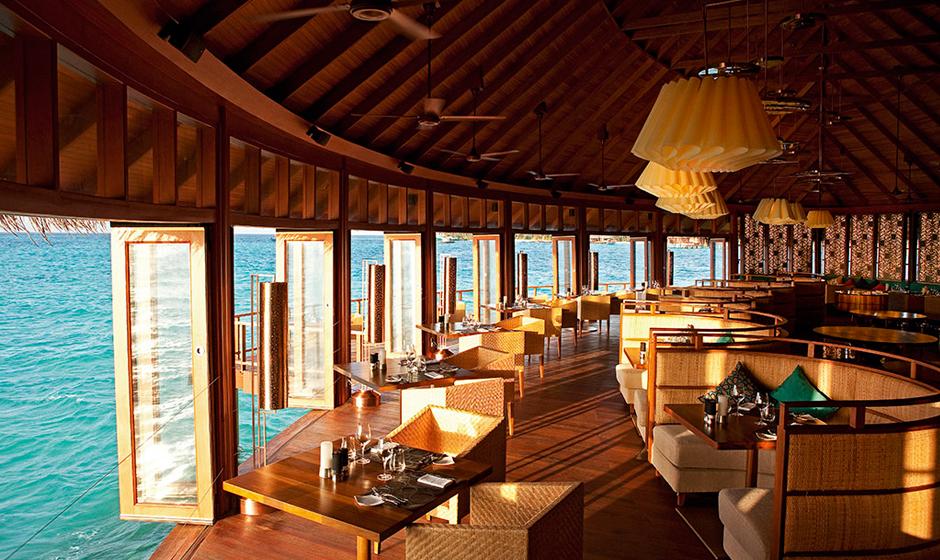 Ocean views at the Jing Restaurant