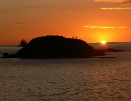 Sunset at Constance Tsarabanjina, Madagascar