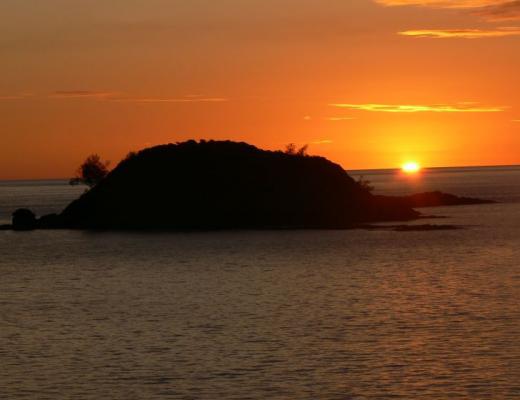 Sunset at Constance Tsarabanjina, Madagascar