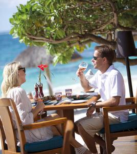 Belle Mare Plage's La Spiaggia Restaurant