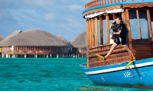 Water sports at Constance Halaveli, Maldives