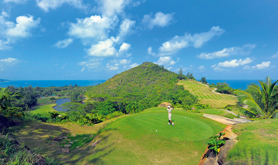 Golf in paradise