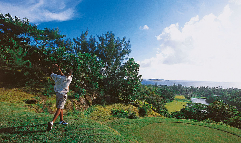 Luxury golf holidays in the Seychelles