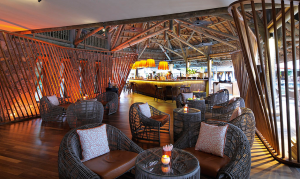 Enjoy a smoothie at the laid back Laguna Bar