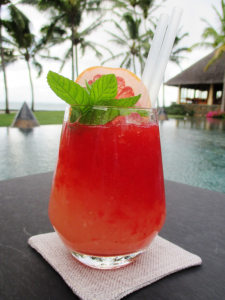 The Red Devil Smoothie from Constance Belle Mare Plage