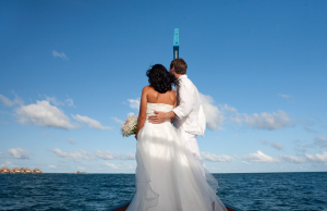 A destination wedding in the Maldives