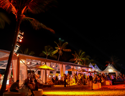 The International Fireworks Festival at Constance Le Prince Maurice