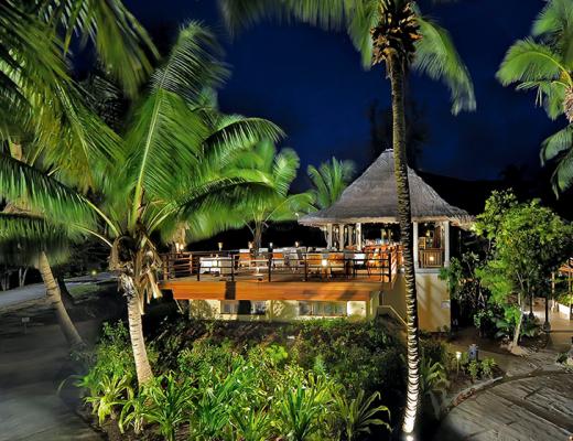 Seahorse Restaurant, Constance Lémuria, Seychelles