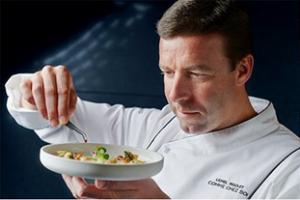 Double-Michelin-starred chef Lionel Rigolet
