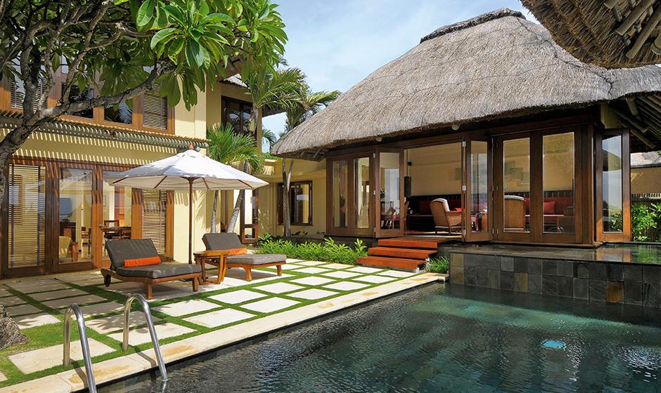 Luxurious villas at Constance Belle Mare Plage