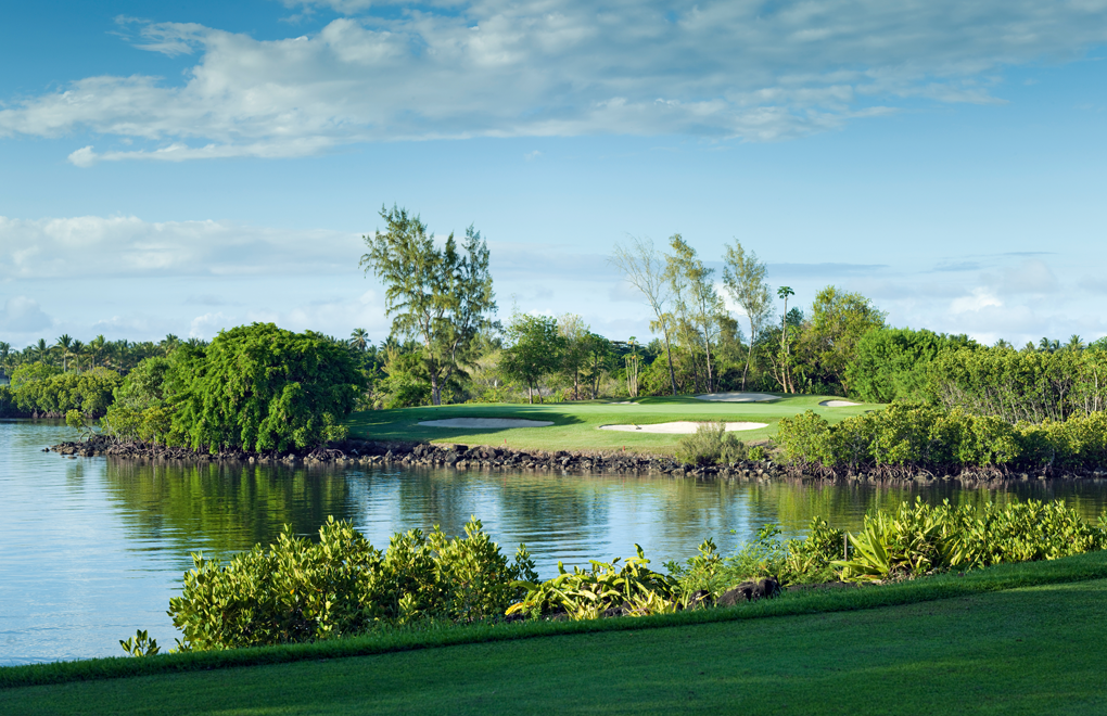 The award winning Legend golf course at Constance Belle Mare Plage