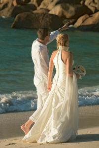 The perfect Indian Ocean wedding