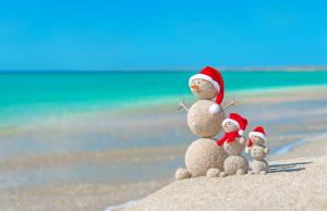 Christmas spirit in the Indian Ocean