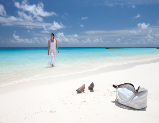 Beach bliss at Constance Halaveli, Maldives