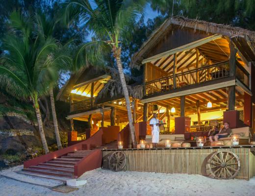 Restaurant at Constance Tsarabanjina, Madagsacar