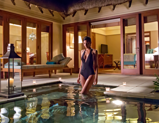 Luxury villas at Constance Le Prince Maurice, Mauritius