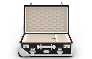 Luxury luggage 2015: Wilkens W1 Carry-on Suitcase