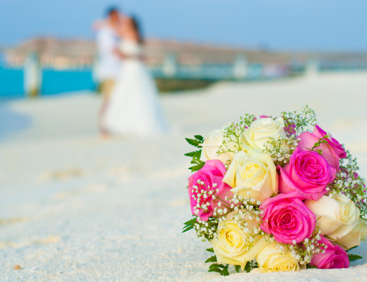 Beach weddings in the Maldives