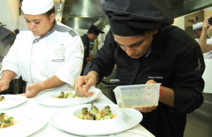 An eye for detail: compiling exquisite dishes at the Festival Culinaire Bernard Loiseau 2014