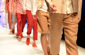 A focus on tailoring was had by many British designers