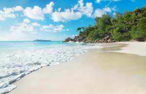 Beautiful beaches of the Seychelles: Anse Georgette