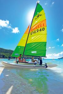 Set sail at Constance Ephélia, Seychelles