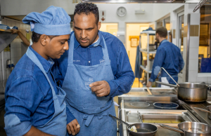 Michael Caines shares his culinary knowledge