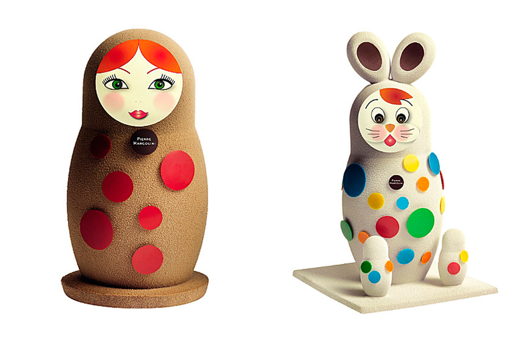 Easter dolls by Pierre Marcolini