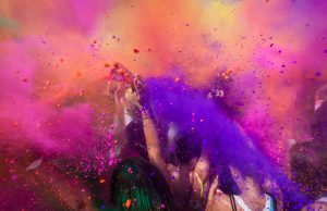 Get wrapped up in the atmosphere & colour