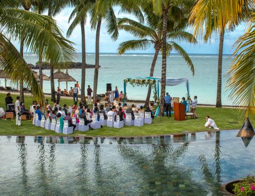 Destination weddings at Constance Belle Mare Plage