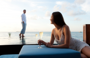 Champagne breakfast on your private deck