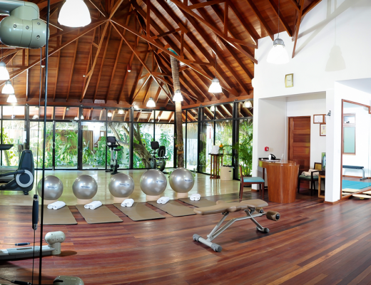 Fitness training at Constance Halaveli, Maldives