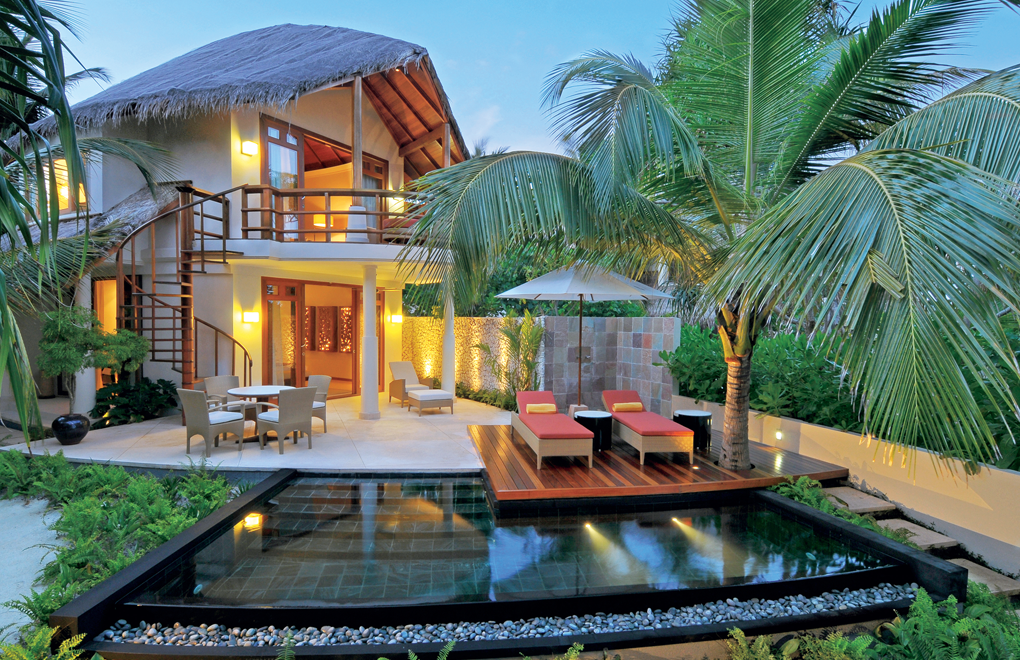 The Double Storey Beach Villa - room for the whole family