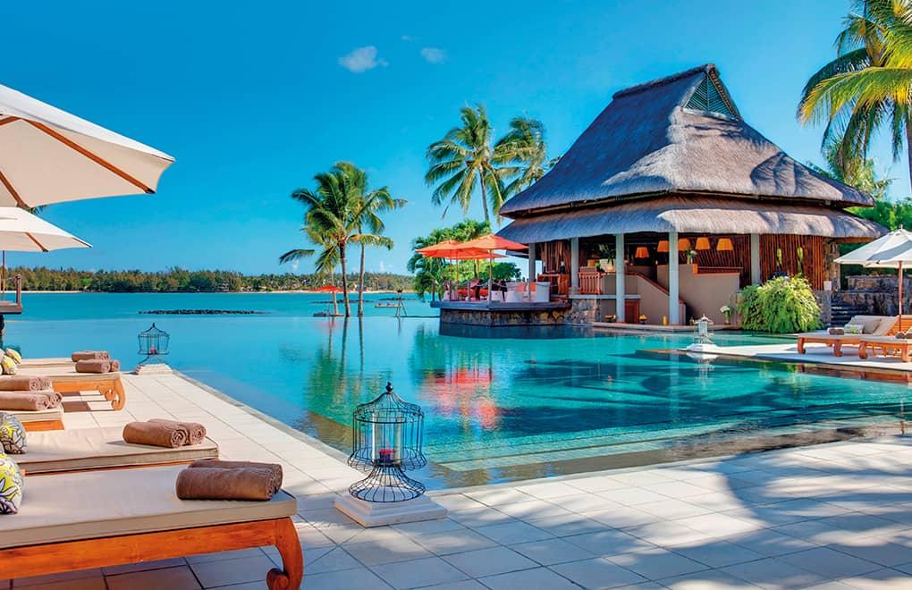 Trip Advisor Travellers' Choice Hotels Awards - Le Prince Maurice pool