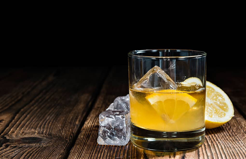 Enhance a classic sour with premium quality whisky