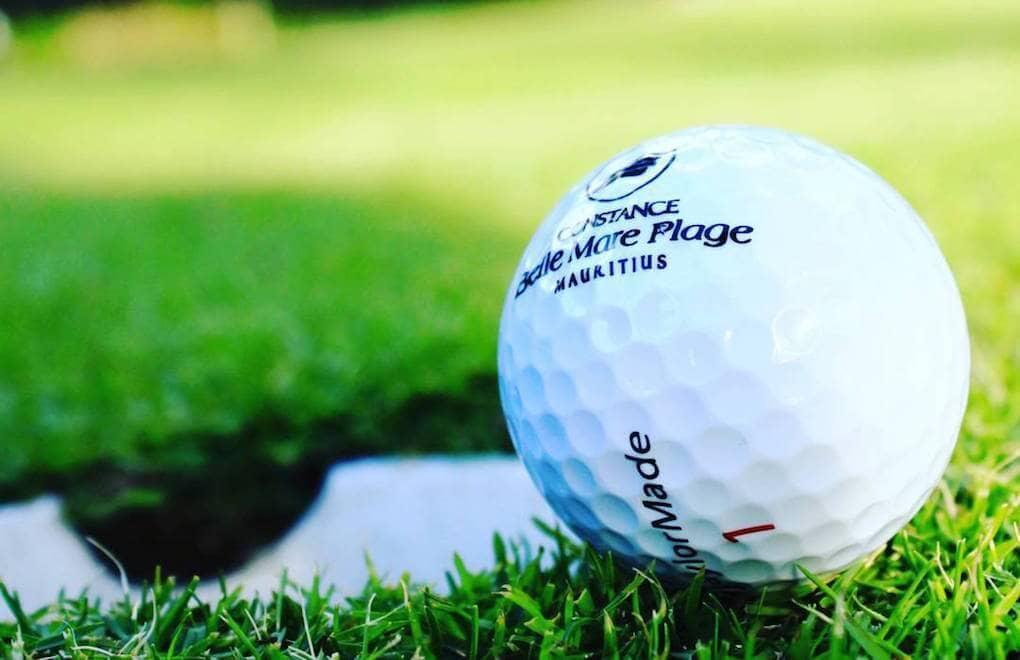 Golf balls ready for the MCB European Senior Tour