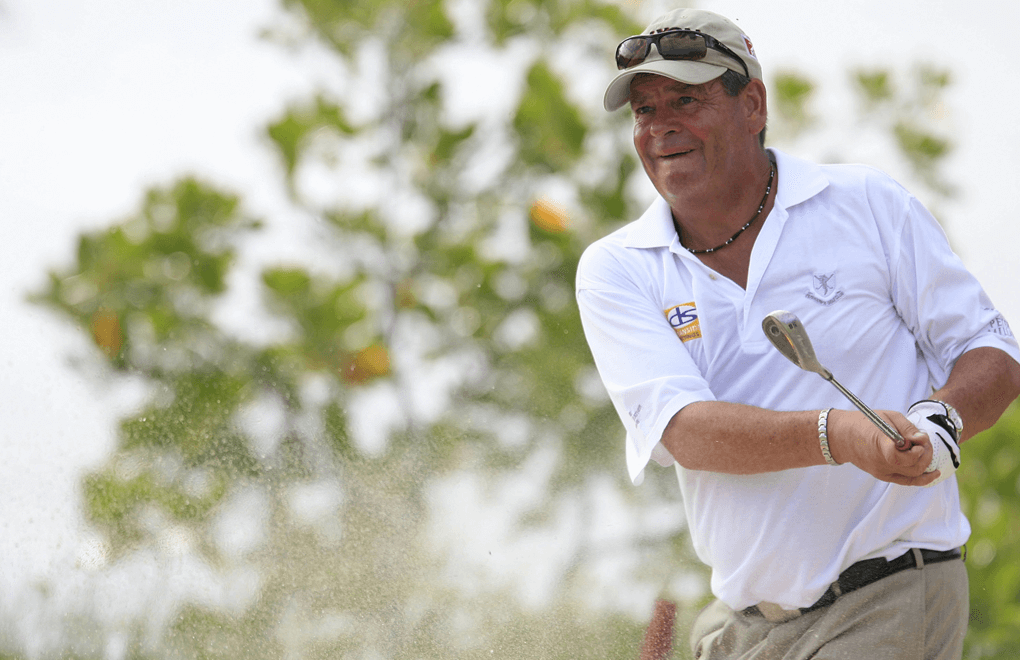 Kevin Spurgeon in 2009 , for the Mauritius Commercial Bank Seniors Open
