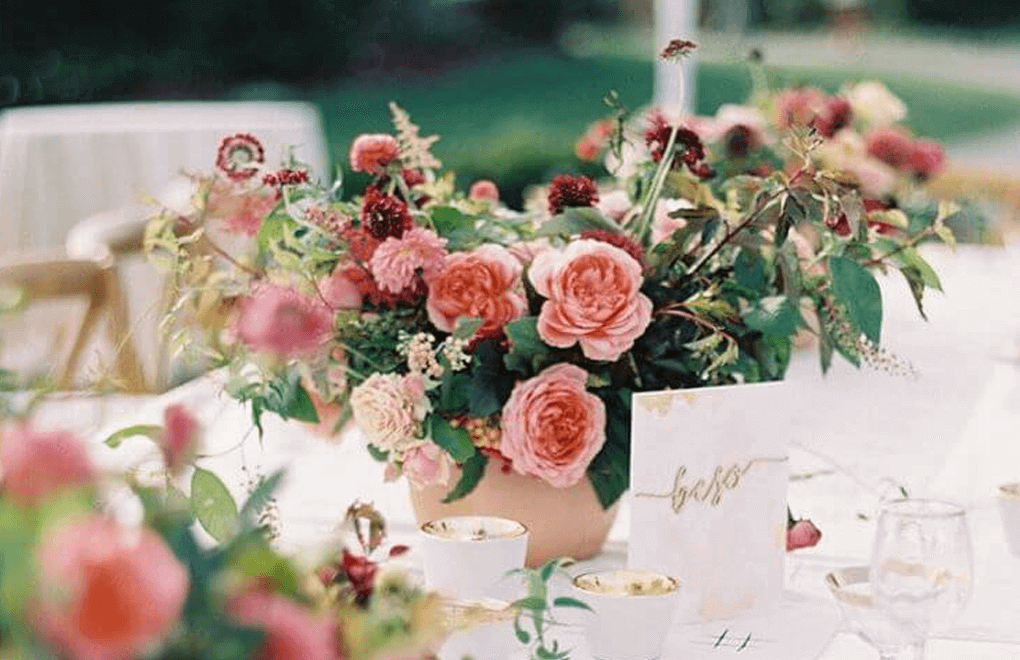 wedding instagram flowers
