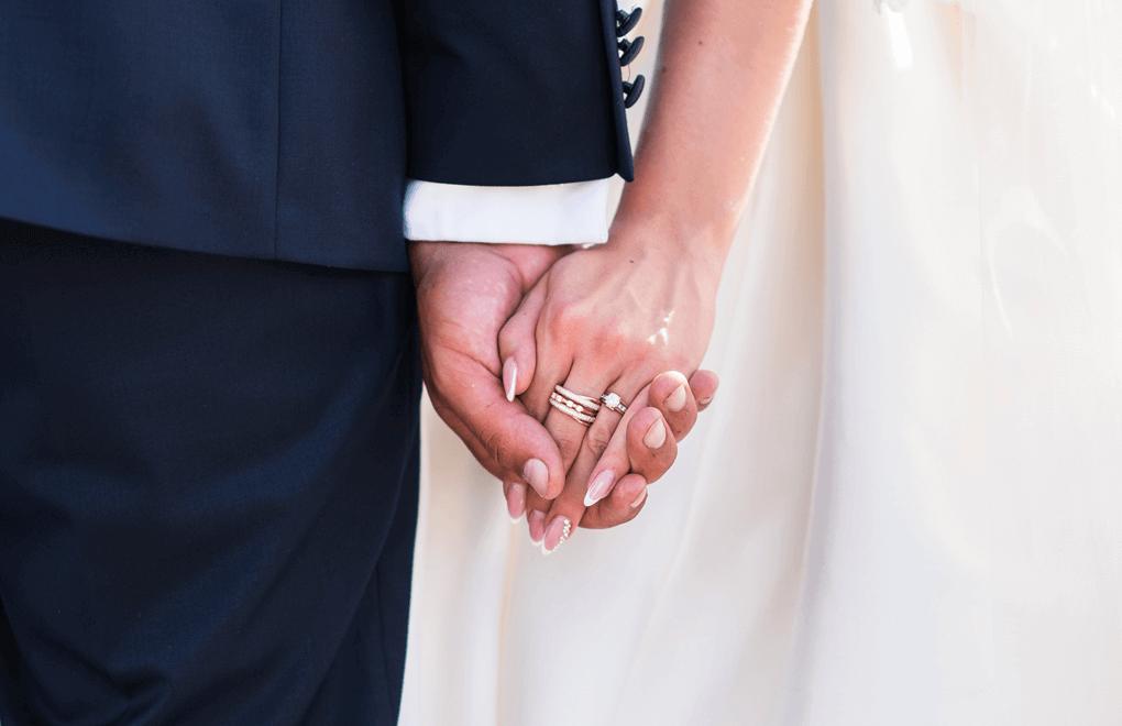 perfect wedding hands