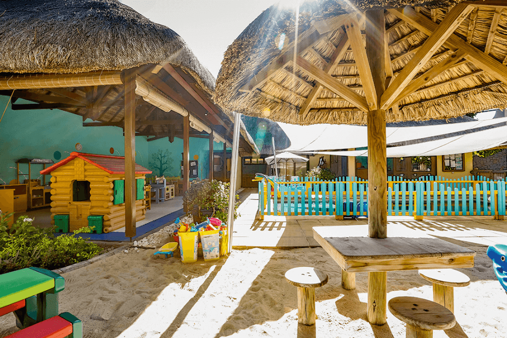 Fun for the family - Kids club at Belle Mare Plage