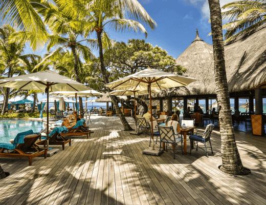 Indigo Beach Restaurant, Constance Belle Mare Plage