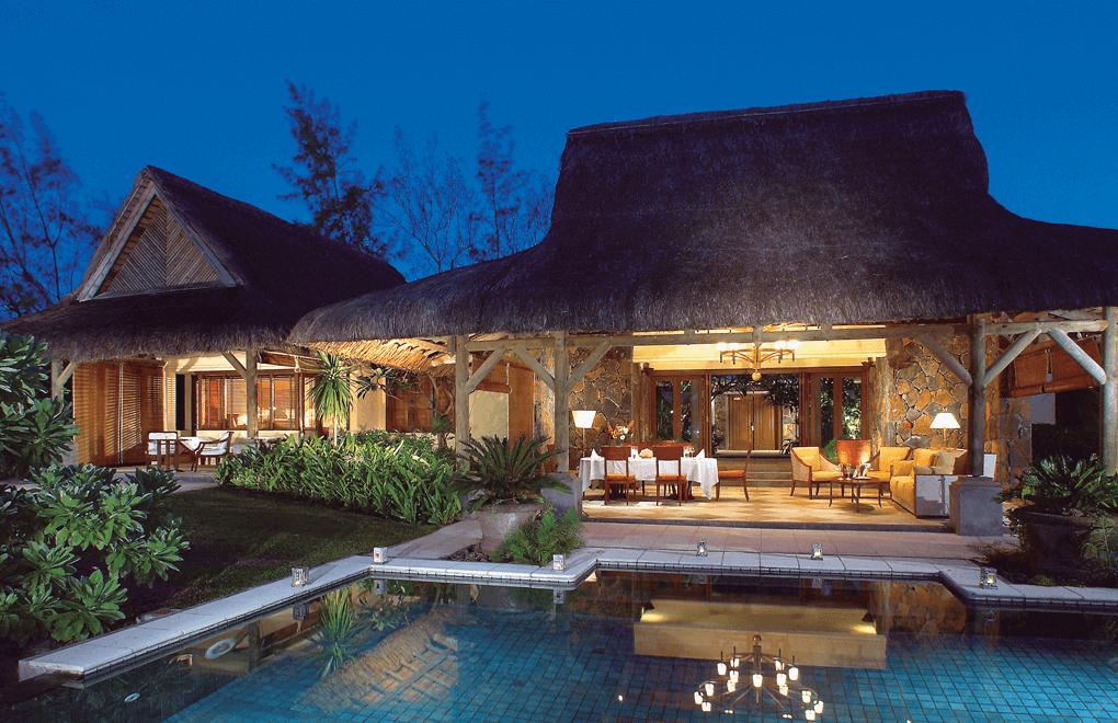 luxury villas - Princely villa at Le Prince Maurice Mauritius